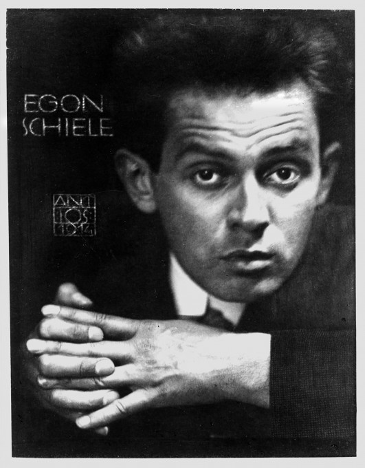 Anton Joseph Trčka: Egon Schiele, 1914. From: Wolfgang Georg Fischer: Egon Schiele 1890–1918 – Desire and Decay, 2008.
