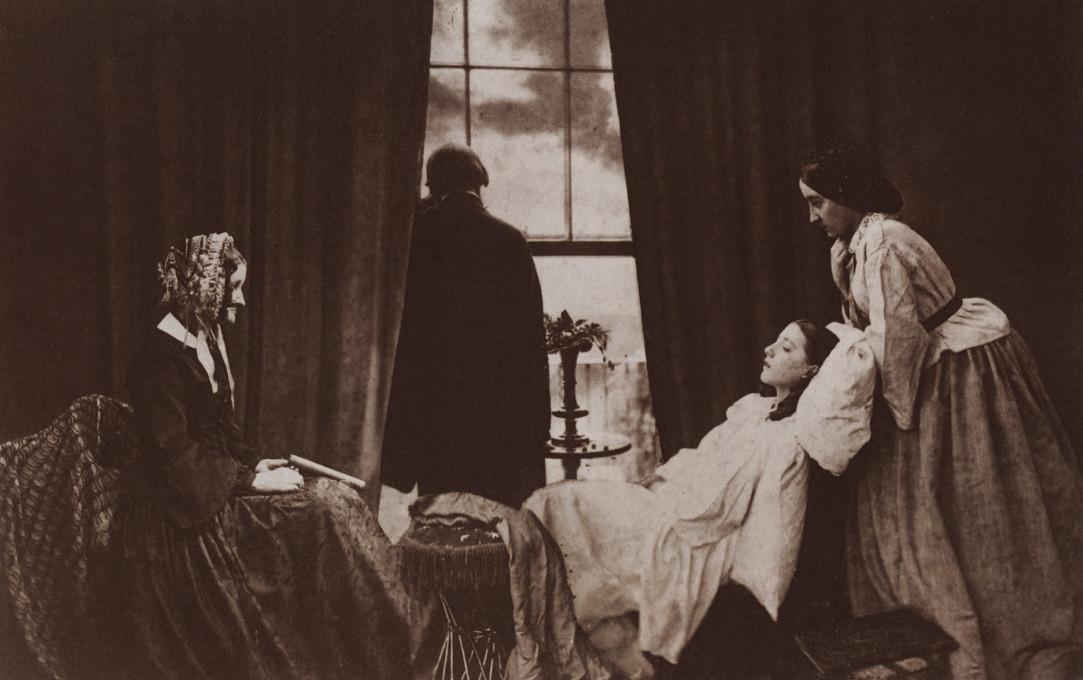 Henry Peach Robinson: Fading Away, 1858.