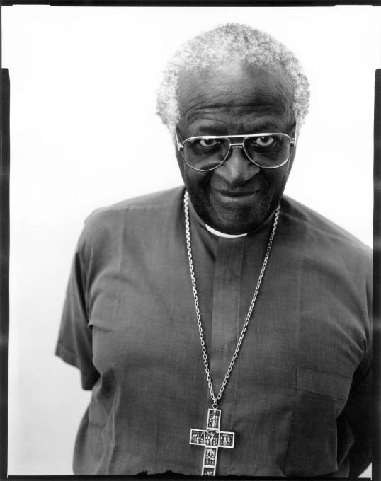 Jillian Edelstein, Nadškof Desmond Tutu, Predsednik Komisije za resnico in spravo, Cape Town, maj 1997.
