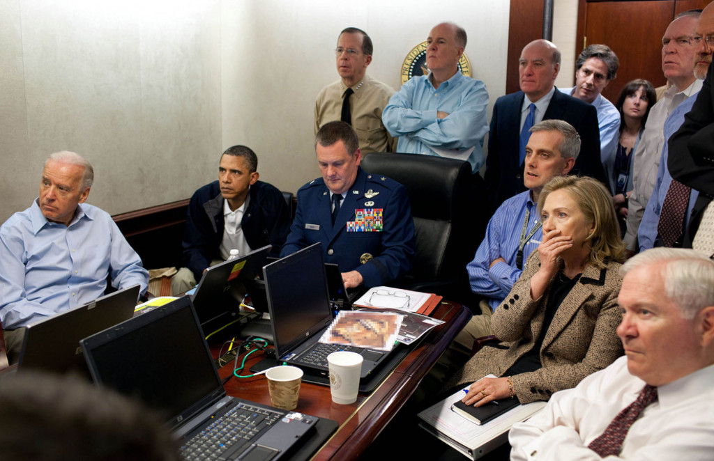 Chinar Shah: The Execution of Bin Laden in Images. Courtesy of Pete Souza.