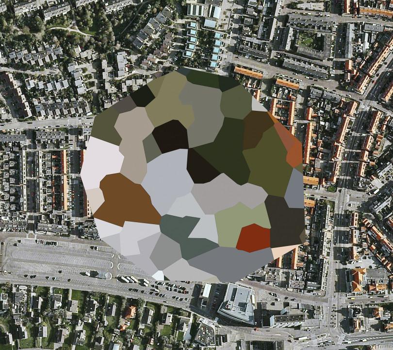 Slika 6, Mishka Henner, Nerazkrita lokacija, Noordwijk aan Zee, South Holland, 2011. Iz serije NIzozemska krajina (Dutch Landscapes). Z dovoljenjem avtorja.