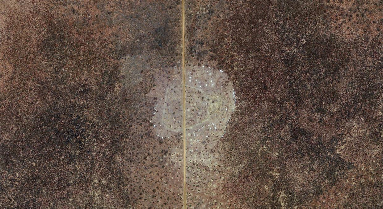 Slika 3, POTEM: Kiir Adem, območje 14 milj, 11. april 2013. Z dovoljenjem DigitalGlobe.
