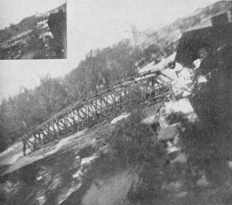 Slika 6. Golobja izvidniška fotografija. (Ilustrirani glasnik 1914, št. 8, 90)