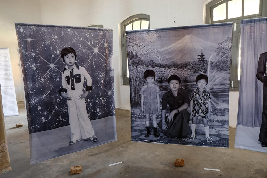 Razstava Burmanski fotografi, The Secretariat, Yangon, 2018.