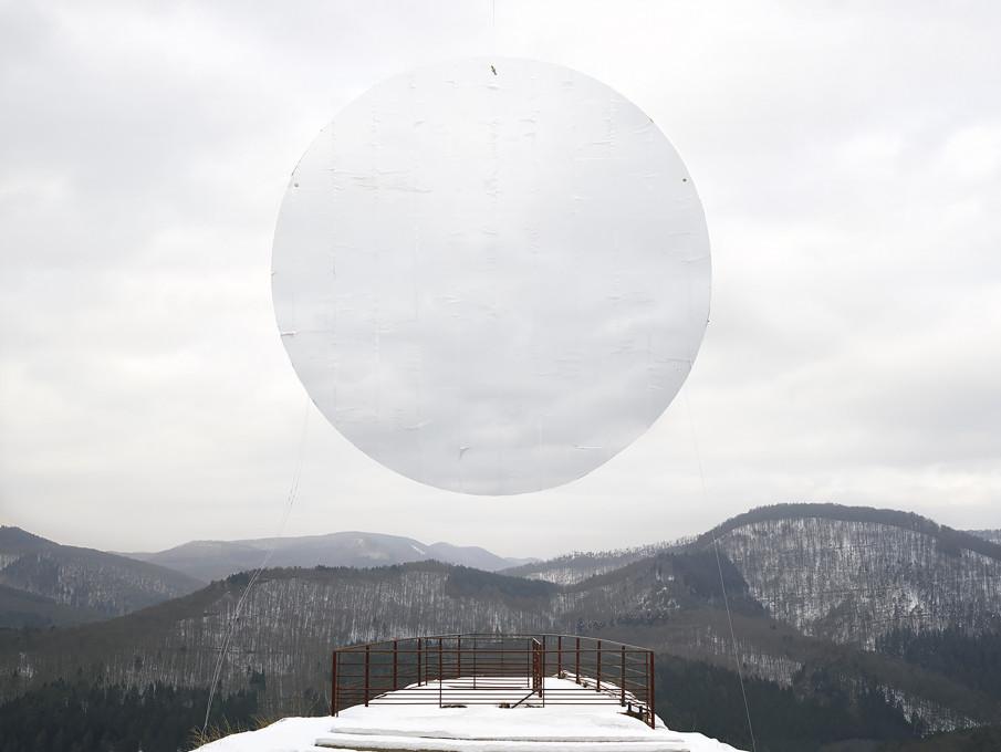 Noémie Goudal, iz serije Prostori polarnega sija, Prostor I, 2015. Z dovoljenjem umetnice.