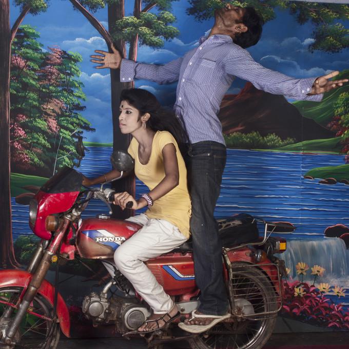 Samsul Alam Helal, iz serije Ljubezenski studio (Love Studio, 2010–2015).