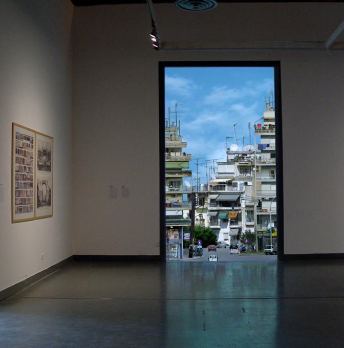 Pogled instalacije Ulica (The Street), Contemporary Art Centre of Thessaloniki, Solun, Grčija, 2012.