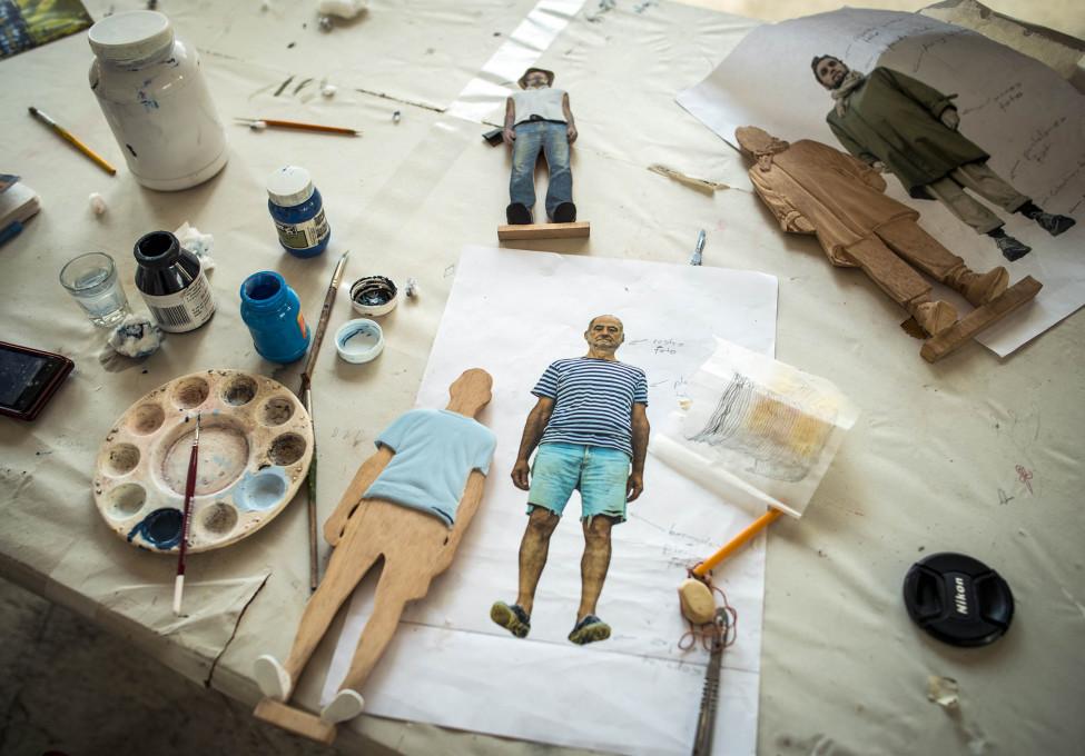 Karin Becker: Fotoesculturas.