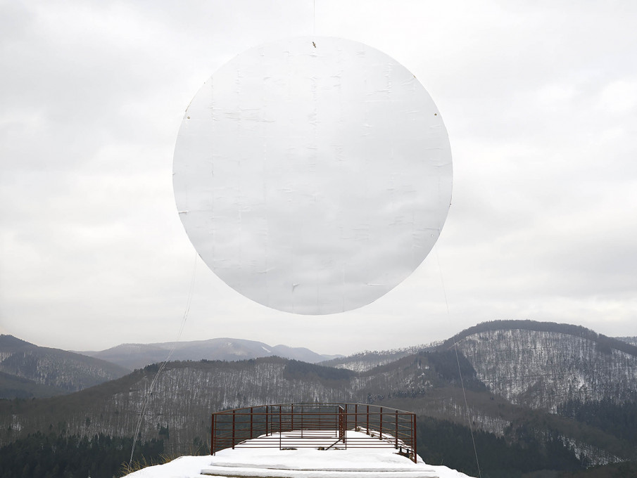 Noémie Goudal: from the series Southern Light Stations, Station I, 2015. Courtesy of the artist.