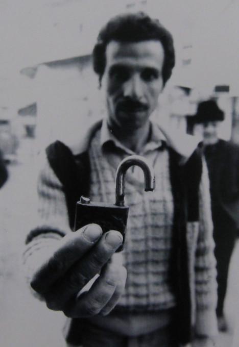 Slika 3. Anat Saragusti. Hebron, marec 1982.