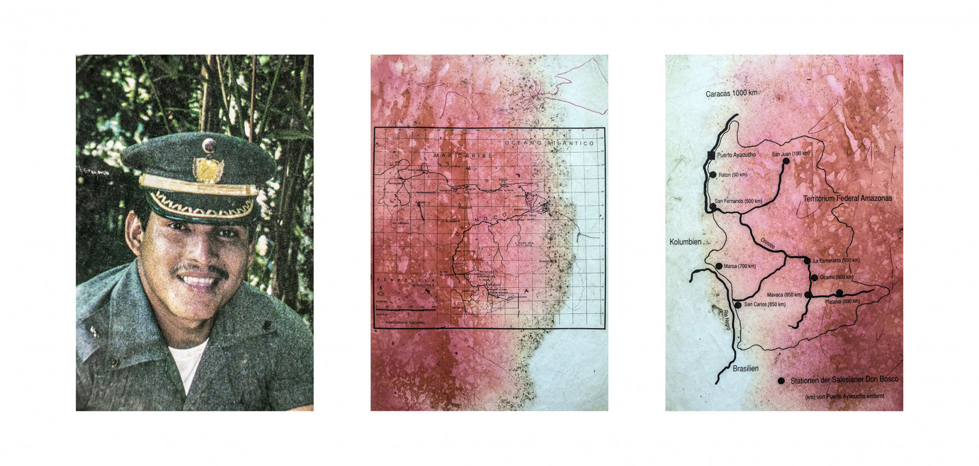 Gabriel Uchida, Tapunha, 105 x 50 cm, fotografska povečava na bambusov papir, 2017.