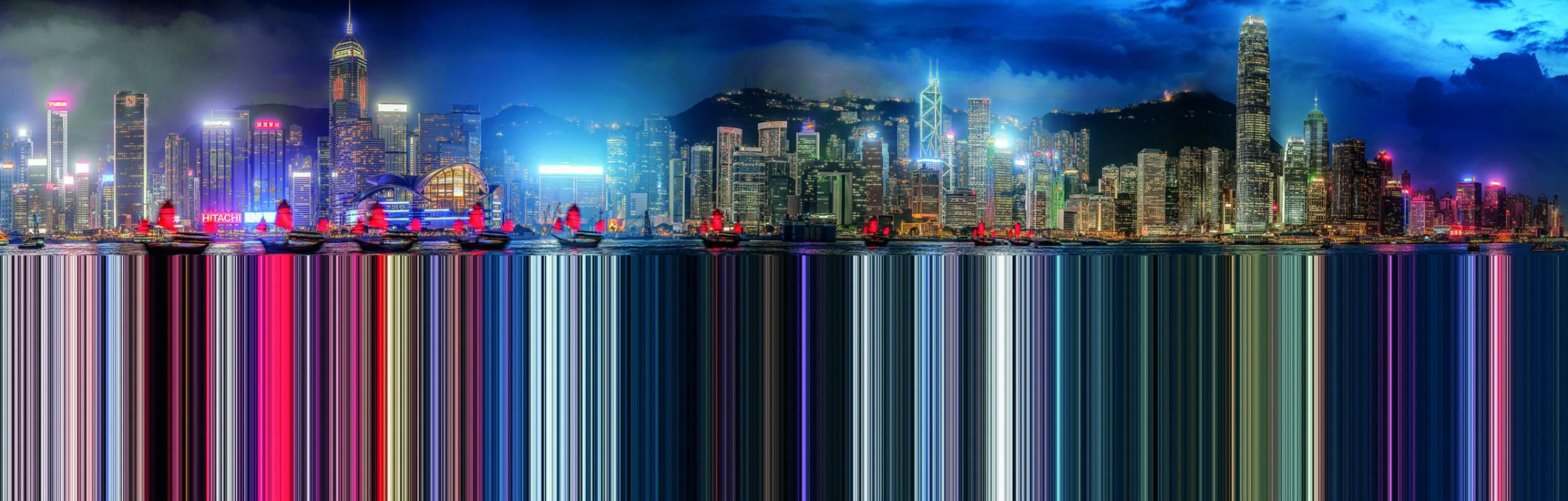 Murat Germen, Facsimile, Hong Kong #5, 2014. Muta-