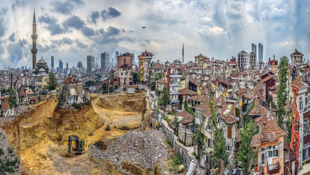 Murat Germen, Muta-morphosis, Fikirtepe, Istanbul #1, 2014.