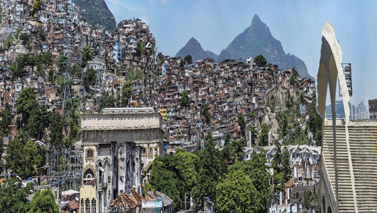 Murat Germen, Muta-morphosis, Santa Teresa, Rio de Janeiro #1, 2017.