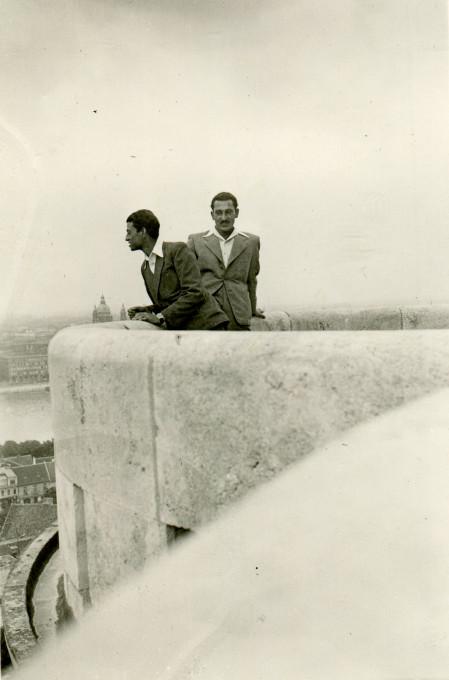 Tibor Adam v Budimpešti, Madžarska; datum: 1942/44. Z dovoljenjem: Mirko Adam.