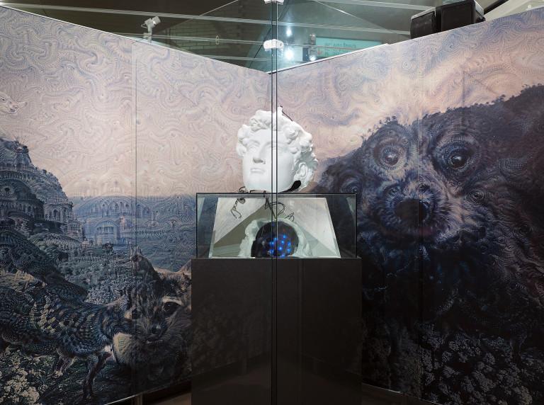 Rabbit Hole: exhibition layout, 2020.