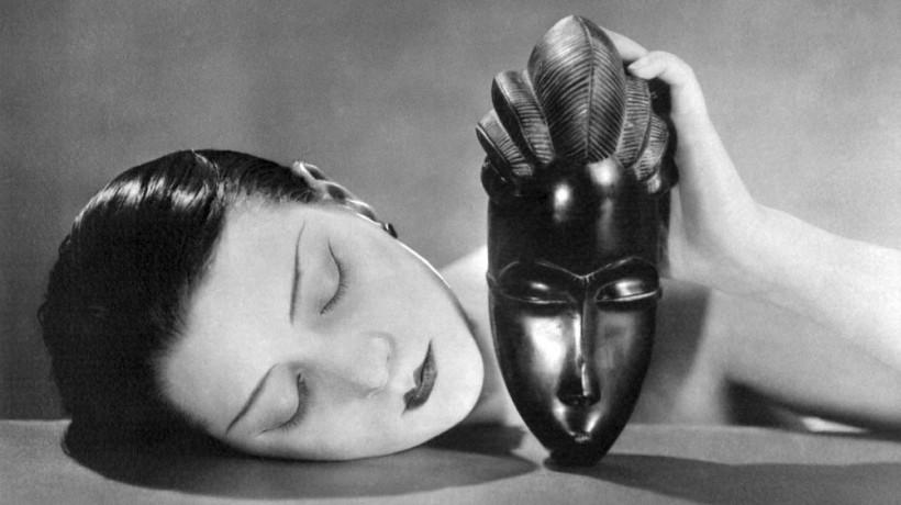 Man Ray, Noire et Blanche (Črno in belo), 1926, pozitiv.