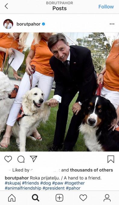 Borut Pahor - Psicki #11