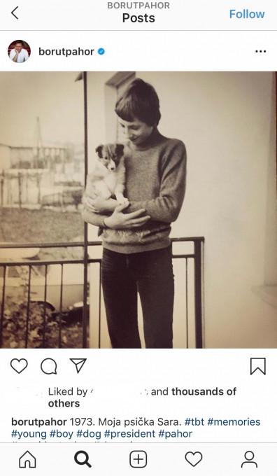 Borut Pahor - Psicki #13