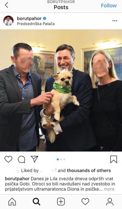 Borut Pahor - Psicki #3