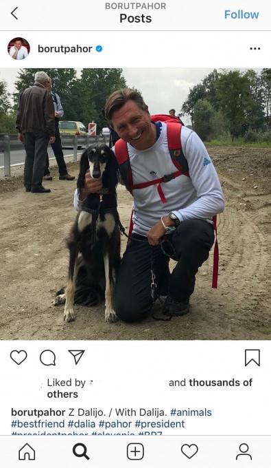 Borut Pahor - Psicki #8