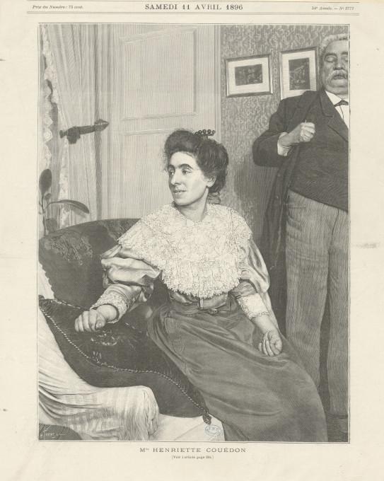 Slika 2. L'illustration, 11. april 1896 (naslovna stran).