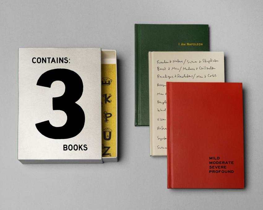 Jason Fulford: Contains 3 Books, 2016.