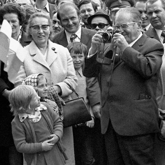 Joco Žnidaršič, Tito v Lisci, 1974. Z dovoljenjem Galerije Fotografije. © Joco Žnidaršič