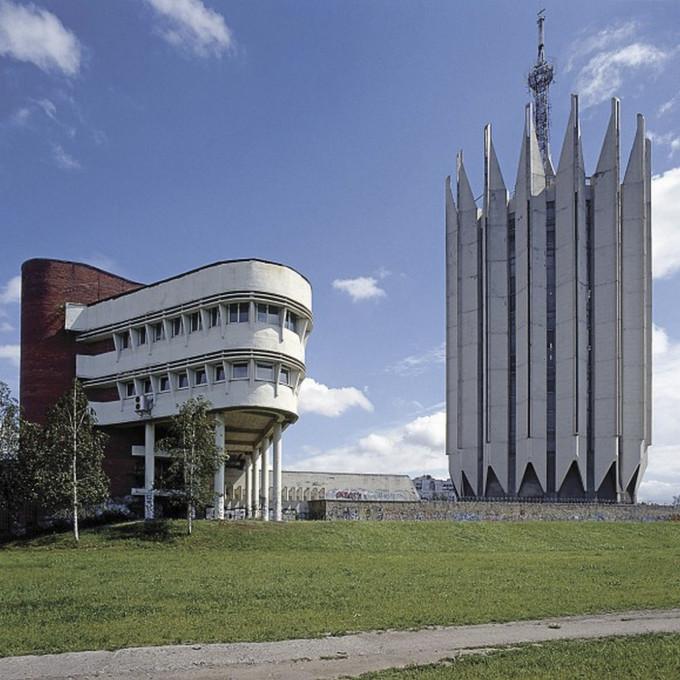 Slika 3. Nicolas Grospierre, Inštitut za kibernetiko, Sankt Peterburg, 2007. Objavljeno z dovoljenjem umetnika.