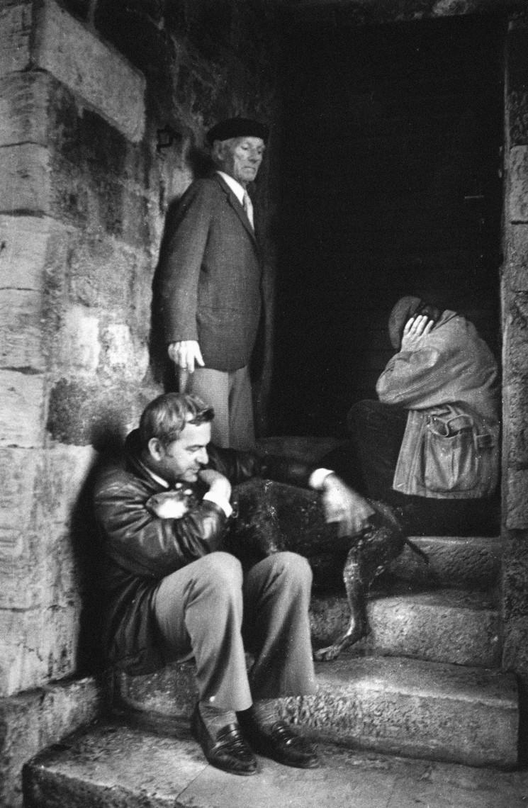 Pavo Urban, Človek s psom – strah, Dubrovnik, november 1991.