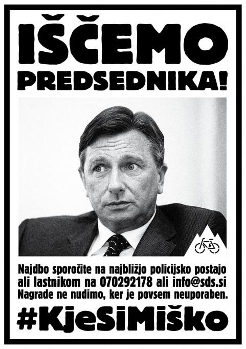 Slika 21. Vuk Ćosić, Jaša Jenull, Miha Zadnikar, Kje si Miško, plakat, 24. junij 2020.