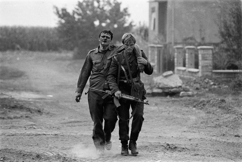 Srđan Sulejmanović Suki, Vukovar ‒ Borovo selo, 1992.