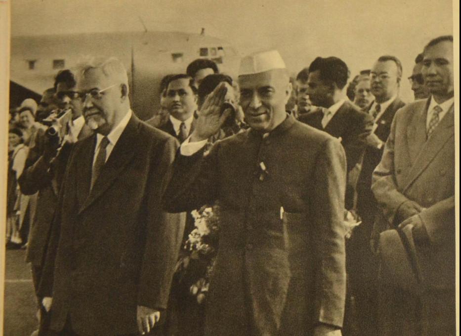 Džavaharlal Nehru, indijski predsednik vlade.
