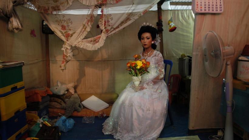 Mamuk Ismuntoro, iz serije/from the series Tanah yang Hilang, 2014.