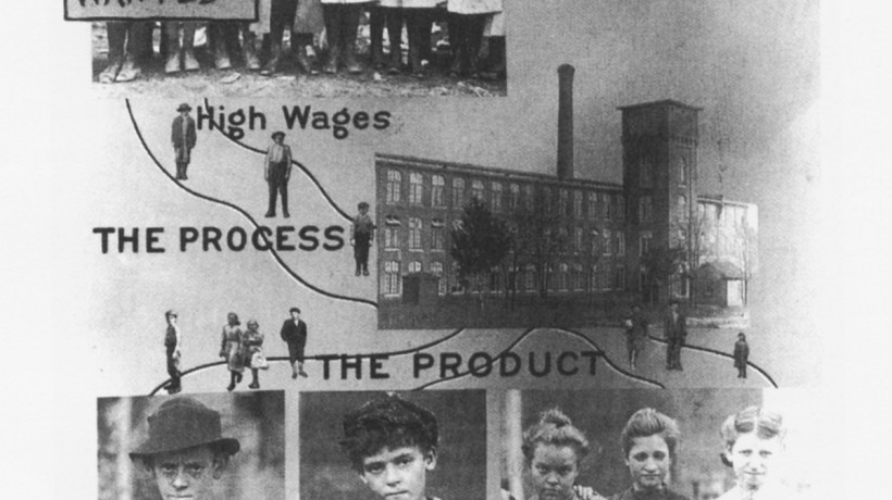 Lewis Hine, Proizvajanje človeških izmečkov (Making Human Junk)
