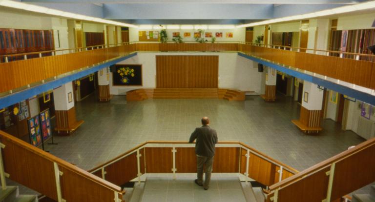 Iz filma Uglaševanje, 2005 (režiser: Igor Šterk,direktor fotografije: Simon Tanšek, ZFS).