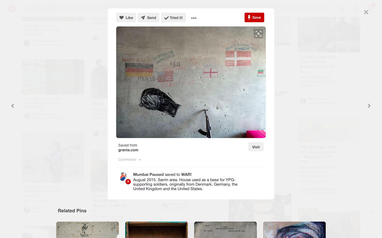 Pinterest YPG. Zajem zaslona dne 22.01.2017 ob 17.56.03 uri.