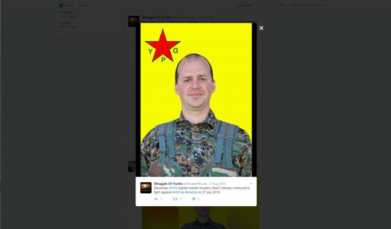 Twitter YPG. Zajem zaslona dne 20.01.2017 ob 15.27.25 uri.
