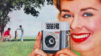 Reklama za Kodak Brownie, 1960.