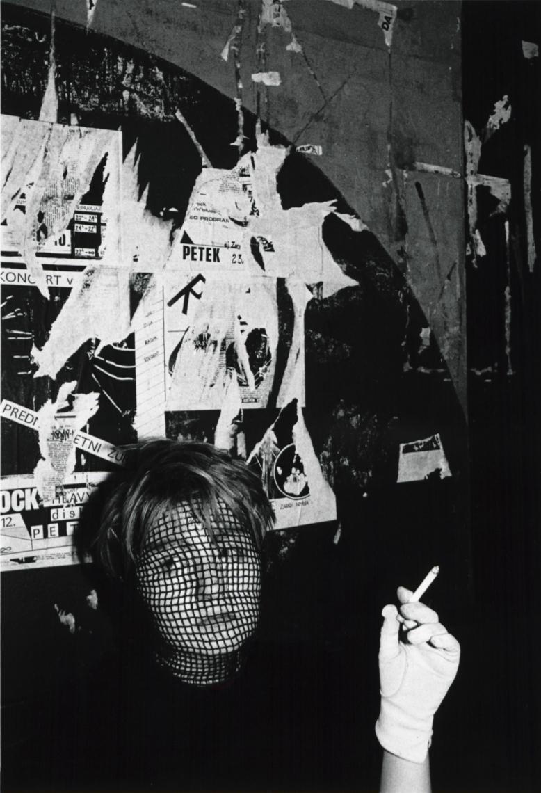 Božidar Dolenc, Iz cikla Ljubljanska subkulturna scena. Disko FV, 1984.