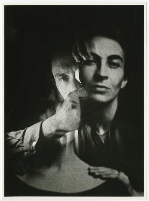 Božidar Dolenc, [Ženski portret in avtoportret], 1984. Z dovoljenjem Moderne galerije, Ljubljana.