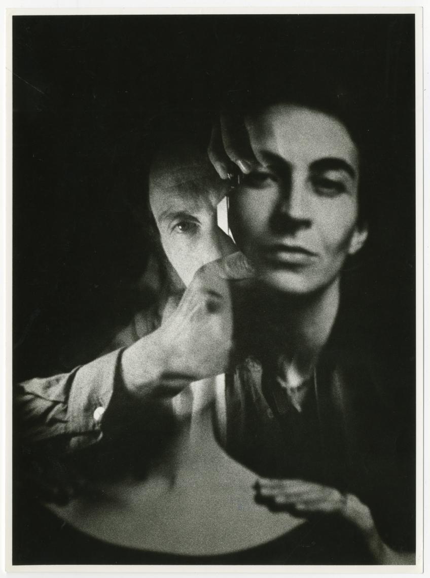 Božidar Dolenc, [Ženski portret in avtoportret], 1984.