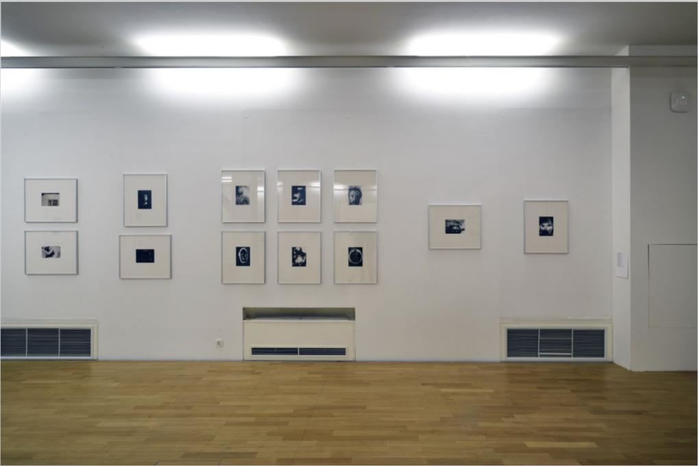 Postavitev razstave. Foto: Dejan Habicht (© Moderna galerija, Ljubljana).