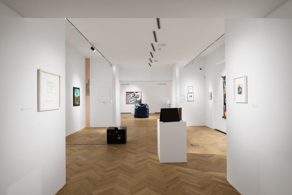 Collection Laurent Fiévet v Mestnem muzeju, razstava Ko ste v dvomu, pojdite v muzej. Foto: Andrej Peunik. Z dovoljenem Mestnega muzeja.