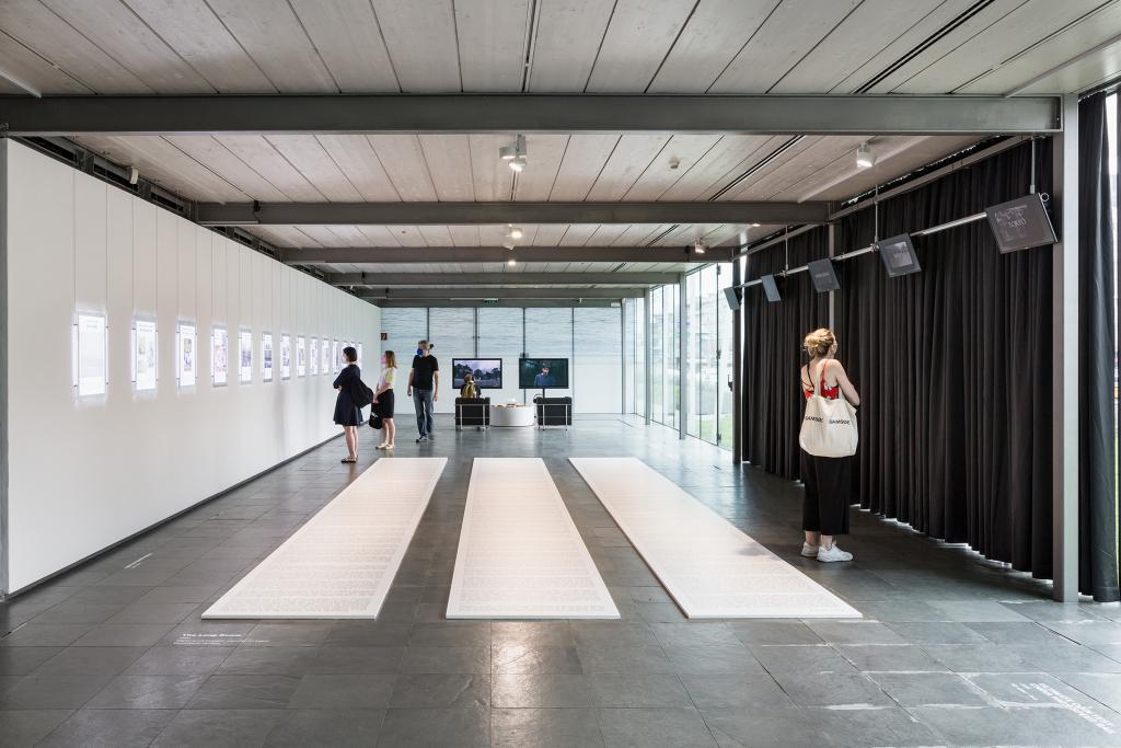 Ho Rui An. Konci dolgega razcveta, Kunsthalle Dunaj 2021. Foto: www.kunst-dokumentation.com